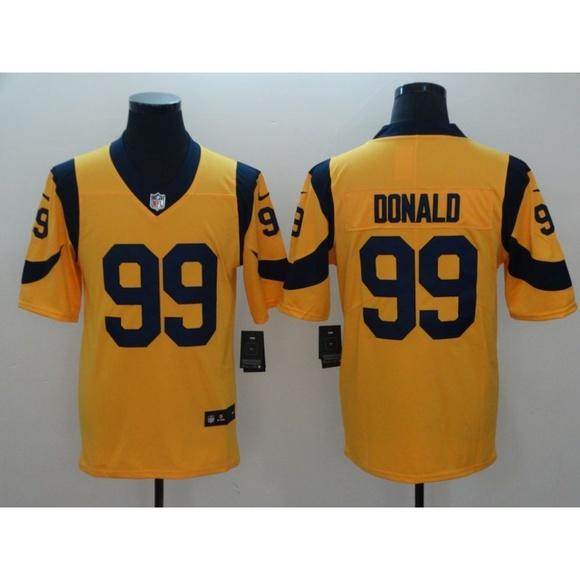 huge discount 9d8c3 14ab4 Los Angeles Rams Aaron Donald Jersey (4) NWT